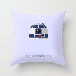 SW R2-D2 The Messenger Throw Pillow