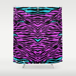 Stripes two Shower Curtain