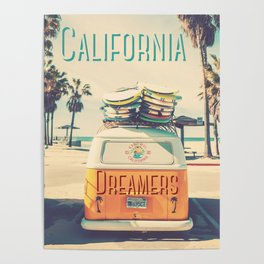 California dreamers Poster