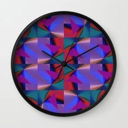 Geometric Lux QR D Wall Clock