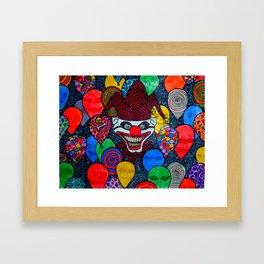Clownin' Around Framed Art Print