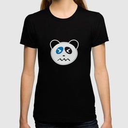 Panda Bear Confounded Face T-shirt