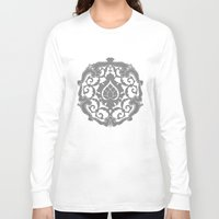renaissance Long Sleeve T-shirts featuring Renaissance Bronzino Decoration by lllg