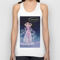 cocaine Tank Tops featuring Cinderella Cocaine Attitude by Trash Apparel