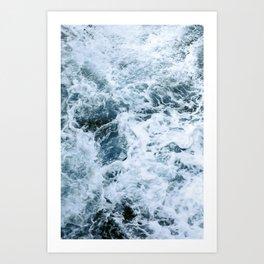 Barbarian Waves Art Print