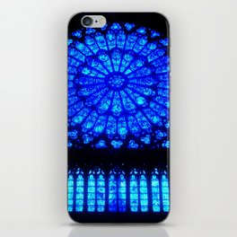 Notre Dame Stained Glass iPhone Skin