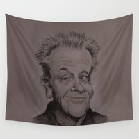 jack Wall Tapestries featuring Jack by chadizms