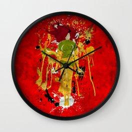 Splash of Phoenix Wall Clock