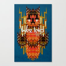 Dodi Owl of the Wezteka Union. Canvas Print