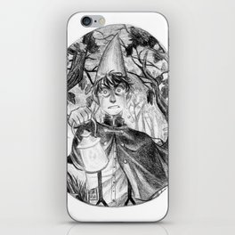 Lost Wirt iPhone Skin