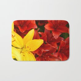 """A Gathering of Lilies"" - 1 [D4465~12] Bath Mat"