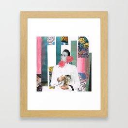 HOLLOW FACES SERIES Framed Art Print