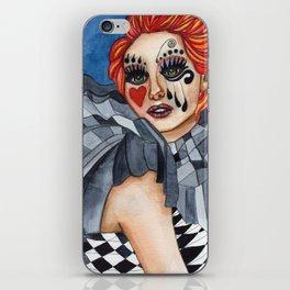 Harlequin - watercolor iPhone Skin