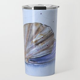The great scallop - Pecten maximus Travel Mug
