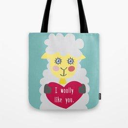 I woolly like you! Tote Bag