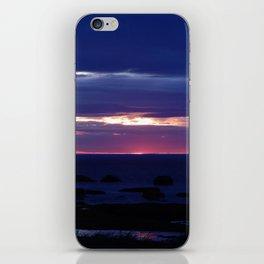 Purple Glow at Sunset iPhone Skin