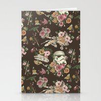 family Stationery Cards featuring Botanic Wars by Josh Ln