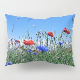 poppy flower no12 Pillow Sham