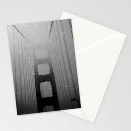 Dark Golden Gate Stationery Cards