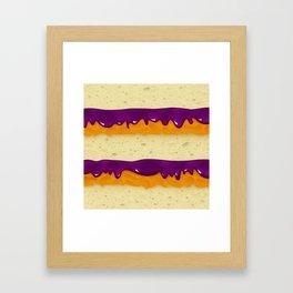 PBJ Framed Art Print