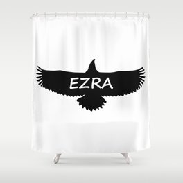 Ezra Eagle Shower Curtain