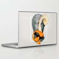 greek Laptop & iPad Skins featuring Greek Bust by Heart of Hearts Designs