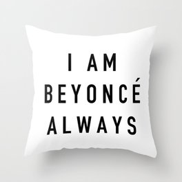 I Am Always - the Office Throw Pillow