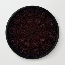 Pure Evil Pansies - Fall 2018 Wall Clock
