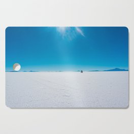 In the Distance, Salar de Uyuni, Bolivia Salt Flats Cutting Board