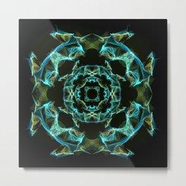 Silk pattern #19 Metal Print