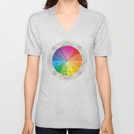 Wheel Of Life Unisex V-Neck