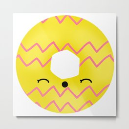 Happy Party ring Metal Print