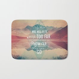 Adventure&Mountain Bath Mat