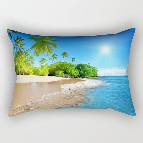 Sun Sand Sea Rectangular Pillow