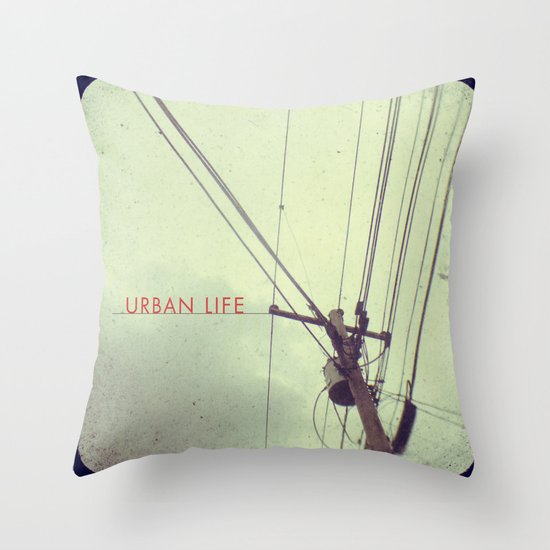 urban life project Throw Pillow