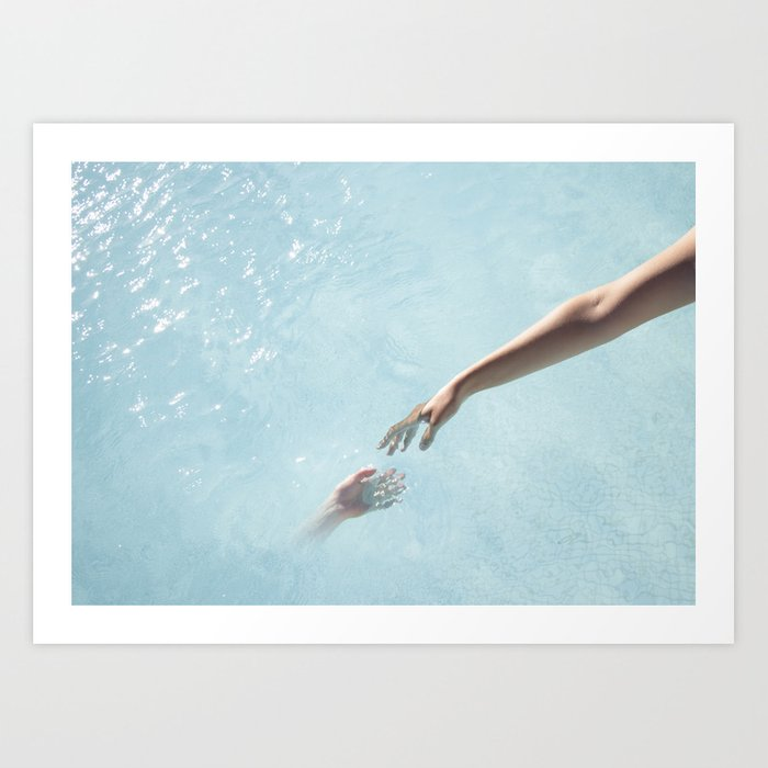 my soul will find yours Art Print