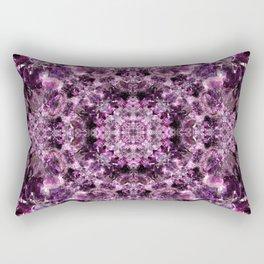 Amethyst Mandala Rectangular Pillow