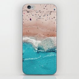 Beach Day (Beach Please Poster No Text) iPhone Skin