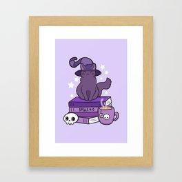 Feline Familiar 02 Framed Art Print