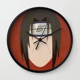 Itachi Uchiha Simplistic Face Wall Clock