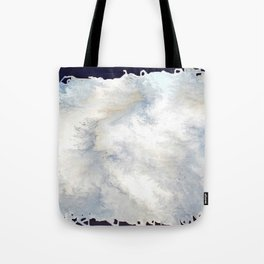 Facing The Storm Tote Bag