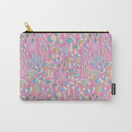 Pink fungi Carry-All Pouch