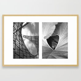 untold spaces Framed Art Print