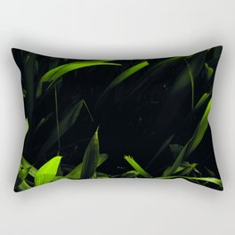 Green Love Rectangular Pillow