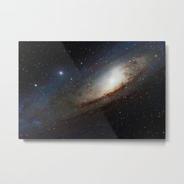 The Andromeda Galaxy, spiral galaxy in the constellation of Andromeda Messier 31 M31 Metal Print