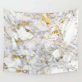 Gold Mine Marble Wall Tapestry