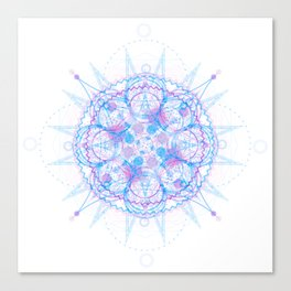 Jagged Circumference Canvas Print