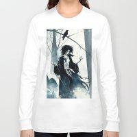 dreamcatcher Long Sleeve T-shirts featuring dreamcatcher by Roger Cruz