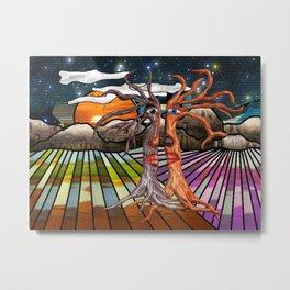 Doodlage 08 - If trees could speak Metal Print