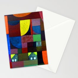 Paul Klee Villa Marionette Stationery Cards